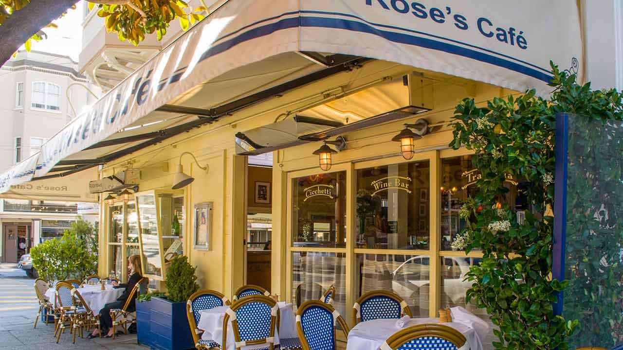 Rose\'s Cafe | 2298 Union Street, San Fransico
